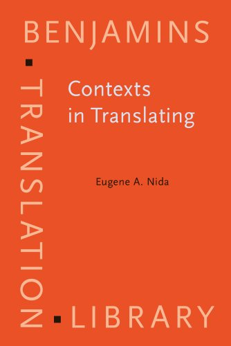 Contexts in Translating (Benjamins Translation Library)