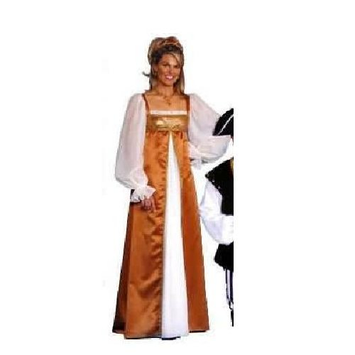 Women Medium (10-12) - Golden Maiden Deluxe Renaissance Costume Gown