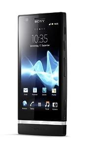 Sony Xperia P Smartphone (10,2 cm (4 Zoll) Touchscreen, 8 Megapixel Kamera, Android 2.3 OS) schwarz