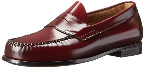 Bass Men's Casson Penny Loafer,Burgundy,8.5 M US