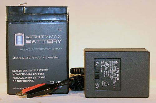 Ml4-6 - 6V 4.5Ah Replaces Criticare Systems 506 Pulse Ox + 6V Charger