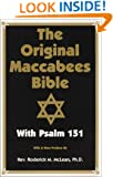 The Original Maccabees Bible With Psalm 151