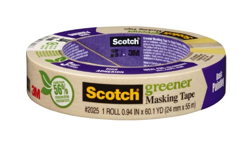 3M Masking Tape for Basic Painting, .94-Inch by 60.1-Yard