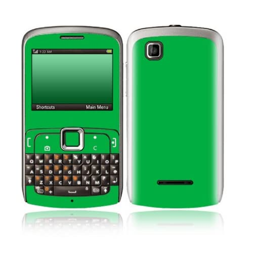 Simply Green Design Decorative Skin Cover Decal Sticker for Motorola EX115 Cell Phone