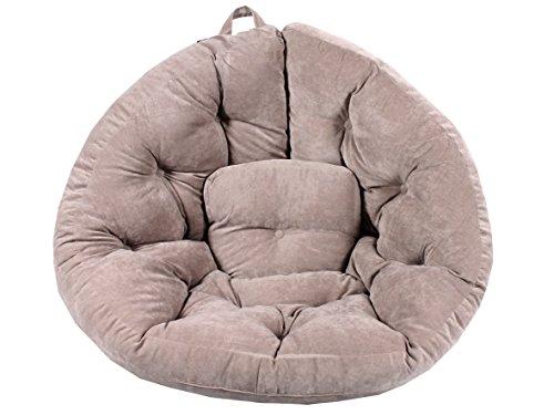 Ambientehome-90718-Magic-Seat-Ocotpus-Sitzmuschel-XXL-215-cm-grau