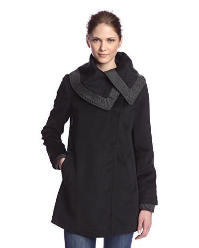 Rachel Rachel Roy Women's Draped Collar Coat