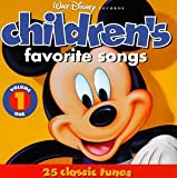 Walt Disney Records : Children's Favorite Songs, Vol. 1 : 25 Classic Tunes