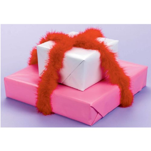 fluffy gift trim - 1