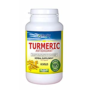 Blue Sky Herbal Turmeric, 60 Count
