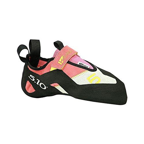 five ten womens hiangle climbing shoe pink yellow 6 5 m