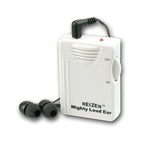 Reizen Mighty Loud Ear Personal Sound Hearing Amplifier by Reizen