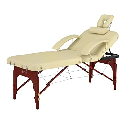 Master Massage SpaMaster Portable LX Massage Table Package, 30 Inch