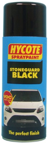 Hycote Stoneguard Black Spray Paint 400ml