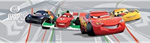 Disney Cars 2 Wallpaper Border from Decofun