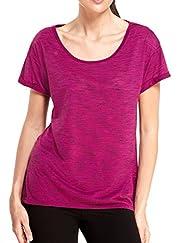M&S Collection Active Performance Slub T-Shirt [T51-3778W-S]