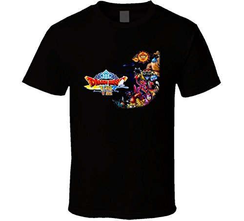 Dragon Quest 8 VIII Journey of The Cursed King Video Game RPG T Shirt