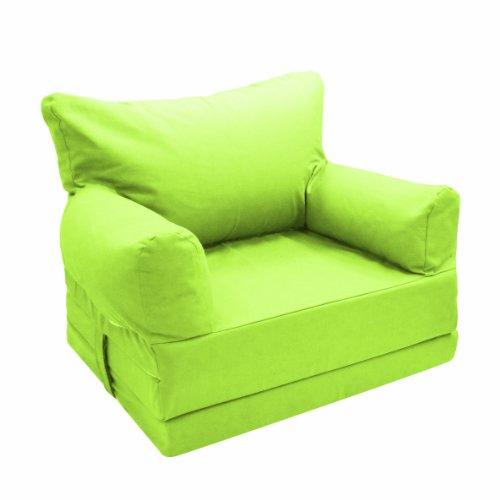 Imagen 1 de Candide 160941 - Sillón plegable para bebés, sirve como cama de invitados (2 en 1), color verde lima