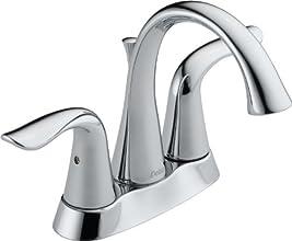 Delta 2538-MPU-DST Lahara Two Handle Centerset Lavatory Faucet, Chrome