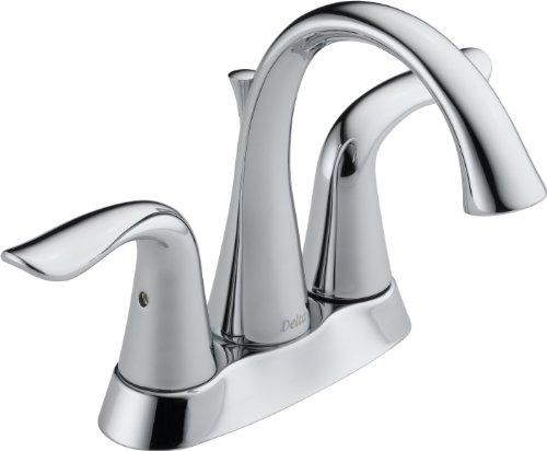Delta Faucet 2538-MPU-DST Lahara Two Handle Centerset Lavatory Faucet, Chrome