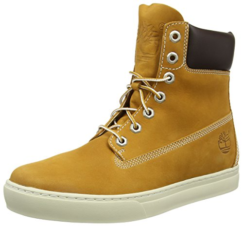 Timberland 2 0 Cupsole 6In, Baskets da Uomo, Giallo (Jaune (Wheat)), 44.5