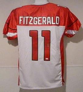 Larry Fitzgerald Autographed Jersey - JSA Certified - Autographed NFL Jerseys by Sports Memorabilia