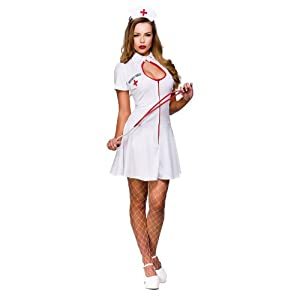 Naughty Nurse - Adult Costume (New) Lady : SMALL