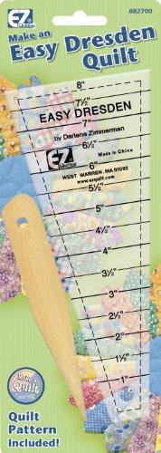 EZ Quilting 882700 Easy Dresden Quilt Tool Set