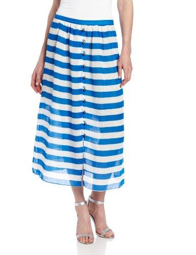 Plenty by Tracy Reese Women's Sheer Bold Stripes