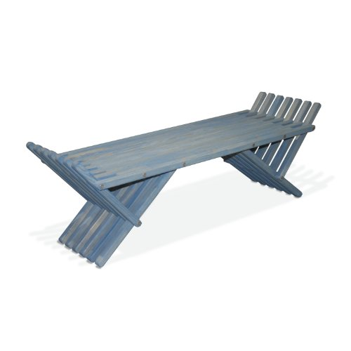 French Bench X90, Sky Blue GloDea B00KC5ETF0