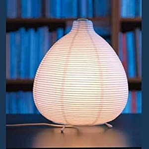 Ikea 201.620.01 Vate Table Lamp Soft Mood Asian Rice Paper