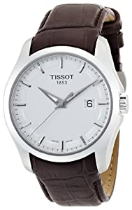 Tissot Men's T0354101603100 Couturier Silver Dial Watch