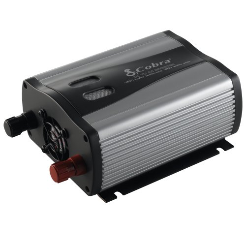 Cobra CPI 480 400-Watt 12-Volt DC to 120-Volt AC Power Inverter with 5-Volt USB Output