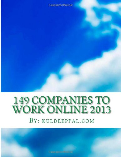 149 Companies To Work Online 2013