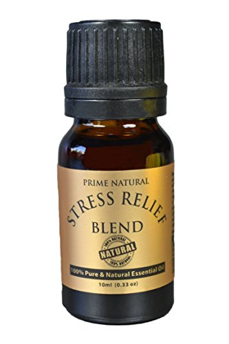 Stress-Relief-Essential-Oil-Blend-10ml-100-Natural-Pure-Undiluted-Therapeutic-Grade-for-Aromatherapy-Scents-Diffuser-Depression-Anxiety-Relief-Relaxation-Boost-Mood-Uplifting-Calming