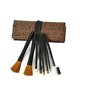 Surker Brosses Maquillage 8pcs / Set Pinceaux Portable pleine pinceau cosmétique Outils Maquillage Accessoires PCPA00032