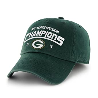 NFL Green Bay Packers 2012 NFC Division Football Champions Clean Up Hat, Dark Green, One Size by