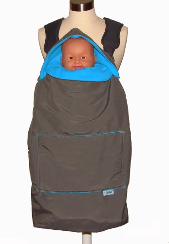 Tivoli Couture Mommy's Hug Baby Carrier Cover and Wearable Blanket - 1