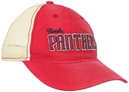 NHL Florida Panthers Women\'s Slouch Mesh Snapback Adjustable Hat, One Size