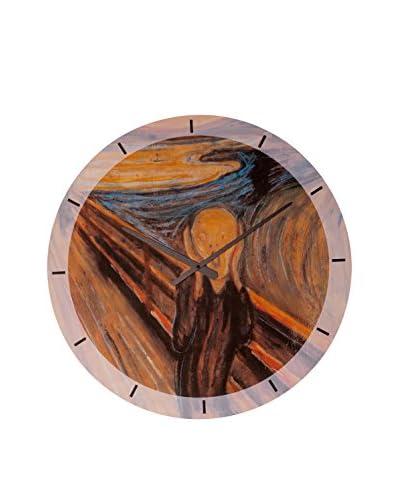 Artopweb Orologio Da Muro Munch The Scream