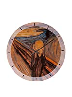 Artopweb Reloj De Pared Munch The Scream