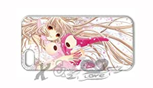 chobits X&TLOVE DIY Snap-on Hard Plastic Back Case Cover Skin for Apple iPhone 5 5G - 3830