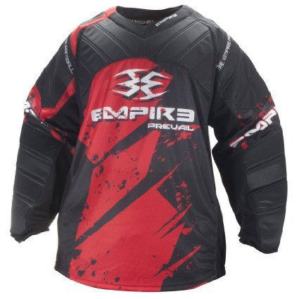Empire Paintball Prevail FT Jersey - Red - 3XL