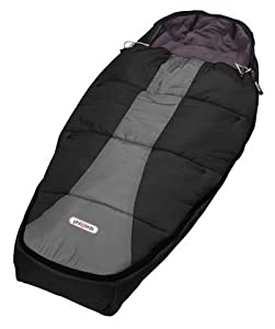 Phil and Ted's Baby Sleeping Bag in Black/Charcoal
