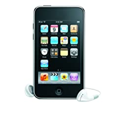 Apple iPod Touch Tragbarer MP3-Player mit integrierter WiFi Funktion sixteen GB schwarz