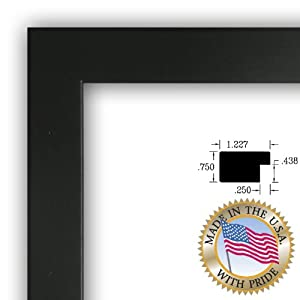 Art To Frames Picture Frame, 11 by 14-Inch, Black