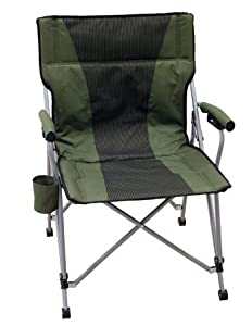 Amazon Com Upright Back Folding Camp Chair With Solid