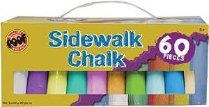 Poof-Slinky OC8908 Jumbo craies pour trottoir de 60 Paquet