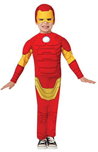 Boys Toddler Marvel Iron Man Kids Child Fancy Dress Party Halloween Costume