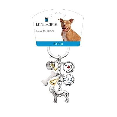 LittleGifts Keychain, Pit Bull