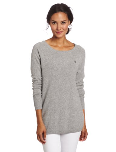 Fred Perry Women's Relaxed Crew Neck Sweater
